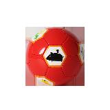 儿童卡通足球直径18cm