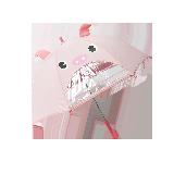 兒童卡通雨傘粉色