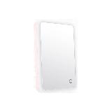 LED便攜臺式壁掛化妝鏡櫻花粉