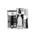 耐用材料猫咪护理清洁套装小剪刀*1+中号理毛梳*1+单排针梳*1