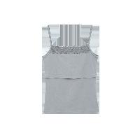 孕产妇哺乳吊带衫优雅灰*M