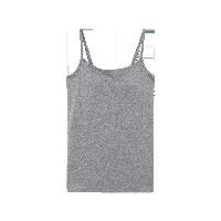 女式无压力bra吊带麻灰*XL