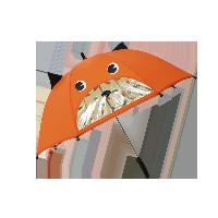 兒童卡通雨傘橙色