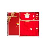 中国红满月百天礼盒66cm(百天礼盒适合3-6个月宝宝)