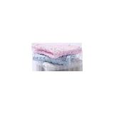 棉质生活 全棉五层吸水纱布方巾(婴童)3条装