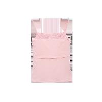 孕产妇哺乳吊带衫樱花粉*M