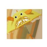兒童卡通雨傘黃色
