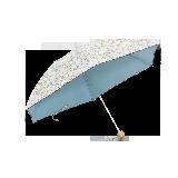 色膠布小花傘藍色