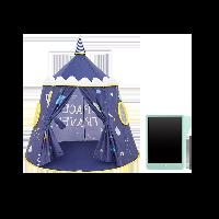 儿童室内游戏帐篷 玩具屋超值组合(银河城堡帐篷+液晶画板)