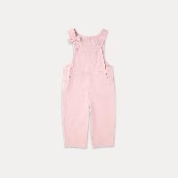 女童秋款背带裤 0-3岁100cm(适合2-3岁,不开裆)