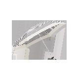 超輕布五折傘米色條紋