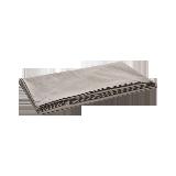 300根水洗棉缎纹床单烟褐色*245*250cm(1.5米床)