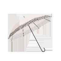 長柄色膠布遮陽晴雨傘粉色