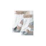 半毛圈运动袜(儿童)12-14cm(脚底12cm)*灰驼