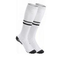 男式跃动足球袜白色*2