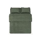 全棉针织纯色四件套烟草绿(床单款)*1.8M(床尺寸)