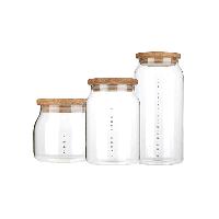 日式玻璃储物罐组合装组合装