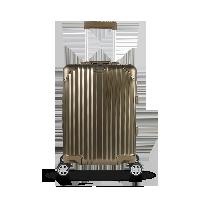 20寸 鋁鎂合金登機箱香檳金