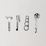 面食专用料理工具 4件套不锈钢304