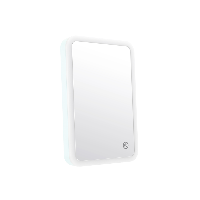 LED便携台式壁挂化妆镜淡雅绿
