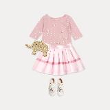 女童格纹短裙 4-16岁140cm(建议9~10岁)