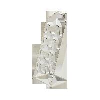 房型折叠拖鞋架白色