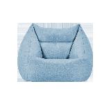 小窩分區懶人沙發藍色