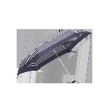 超輕布五折傘藍色條紋