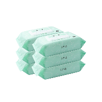 木糖醇手口濕巾 80抽80抽*6包