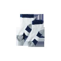 半毛圈运动袜(儿童)16-18cm(脚底16cm)*藏蓝