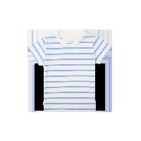 经典海魂短袖T恤(女童)浅蓝*110cm(建议3~4岁)