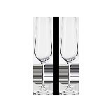 2只裝 捷克制造 水晶香檳對杯香檳禮盒兩只裝
