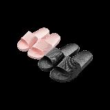 【情侣款】轻简四季居家拖鞋【情侣款】36;37码 糖果粉+41;42码 黑色
