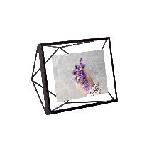 立体菱形相框黑色6寸