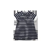 婴幼儿纯棉条纹连衣裙 3个月-3岁藏青条纹*59cm(适合0-3个月)