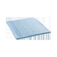 抗菌柔滑竹丝毯  浅蓝色*150*200cm
