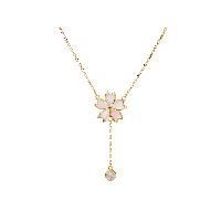 樱花限定·日本樱花珍珠母贝项链项链