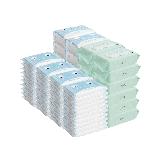 婴童洗护大礼包手口湿巾80片*12包+乳霜纸巾100抽*3包*4组+乳霜纸巾46抽*10包*4组