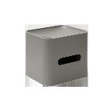 多功能纸巾盒岩石灰