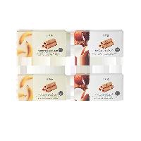 泰国制造 香脆椰子卷 16克*12份2口味组合装(原味2盒+香蕉味2盒)