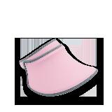 防紫外线宽檐遮阳帽樱花粉
