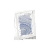 立體菱形相框白色6寸