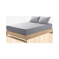 莱卡针织素色床笠  升级款丁子灰*1.5M床:150*200*28cm(适用厚度28cm以下的床垫)