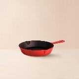 限量迷你珐琅煎锅20cm无盖/红色/20cm