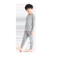+5°C儿童咖啡碳内衣套装黑色*160cm(建议14-15岁)