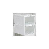 抽屜式透明儲物柜T 350*450*235mm  兩只裝