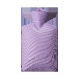 德國制造 防爆加厚熱水袋 單只裝馬卡龍紫(1.8L,贈防燙袋)