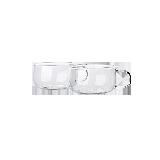 水滴壺 日式玻璃茶壺套組茶杯 130ml*2