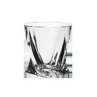 捷克制造 水晶玻璃威士忌酒杯340ml单只装