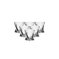 捷克制造 水晶玻璃威士忌酒杯55ml六只装(白酒杯)